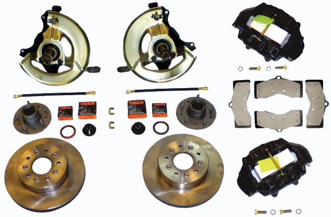 Front Disc Brake Conversion Kits