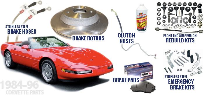 Corvette Parts @ CSSB - C4 1984-96 Parts