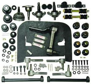 corvette front end suspension rebuild kit